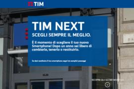 TIM Next Offerta TIM con Smartphone Incluso