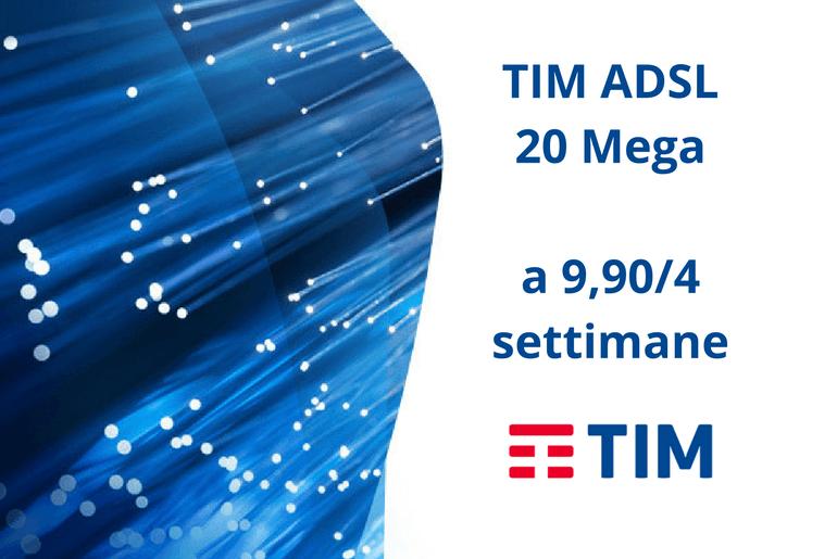 TIM ADSL 20 Mega Come Attivarla