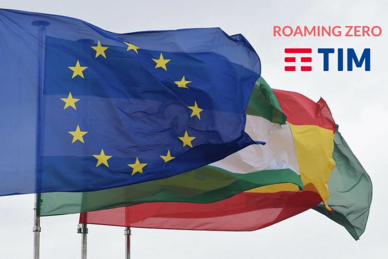 Tim addio al roaming fine dei costi extra in europa for Addio roaming