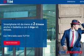 Offerte TIM Smartphone Incluso a Partire da 1 Euro al Mese