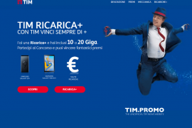 Premi TIM Cosa Si Vince con Ricarica+