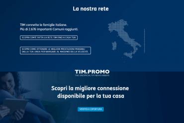 Attivazione Fibra TIM Offerte Connect a Partire da 15€