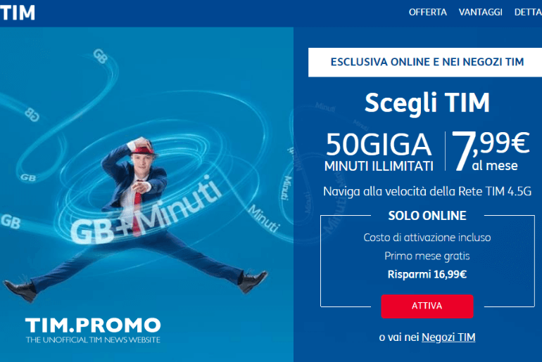 Come Attivare Offerta Internet Mobile TIM Steel