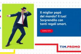 Promozioni TIM Cellulari per la Festa del Papà 2019