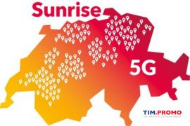 Rete 5G in Svizzera Attiva Grazie a Sunrise