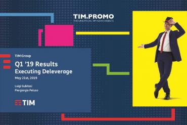 Primo Trimestre 2019 TIM in Aumento Clienti Rete Fissa e Fibra
