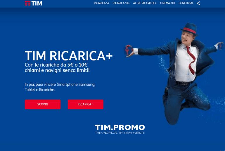 Ricarica TIM Come Vincere Premi con Ricarica e Vinci