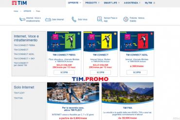 TIM Connect Fibra Offerte Fisso di Giugno 2019