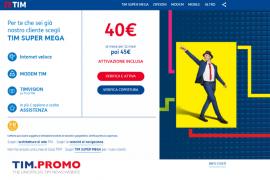 Promo TIM Super per Già Clienti Fino a 120 Euro di Sconto