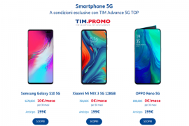 Smartphone 5G TIM OPPO Reno e Xiaomi a 0€ al Mese